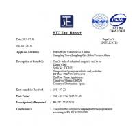 Hongtai furniture factory Certifications