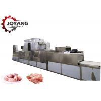 Buy cheap Frozen Products Pork Pieces Food Thawing Machine With Microwave Source from wholesalers