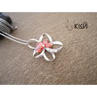 China High quality guarantee Star sterling silver gemstone pendant with zircon W-VB993 wholesale
