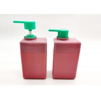 China Hot-Selling  100ml 250ml Pink Color HDPE Plastic Bottles With Lotion Pump on sale