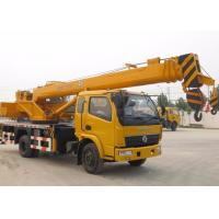 China 25 Ton Straight Telescopic Boom Truck Crane for Mining Engineering / Landscaping wholesale