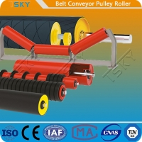 China Motorized Rubber Lagging Head Driving Conveyor Drum Pulley Roller wholesale