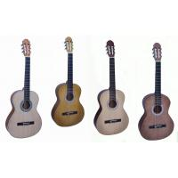 China 39 Inch Professional Bleach Spruce Wood Classical Guitar With Cupronickel Frets CG3922KM wholesale