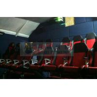 Quality 7.1 / 5.1 Audio system XD Theatres , 5D movie theater with yellow blue black 3D for sale