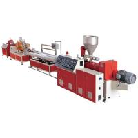 China Complete PVC Windows / Door Frame Making Machine WPC Profile Production Line wholesale