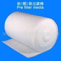 China 20 mm Synthetic Fiber Washable Pre Filter Media For  Spray Booth wholesale