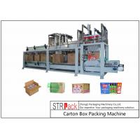 China Bottle Carton Case Packer Machine For Lubricating Oil / Aerosol Products Filling Line wholesale