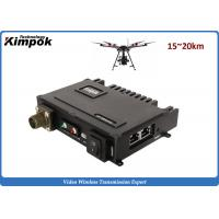 China Multicast UAV Network IP MESH 20km LOS Mobile-Networked MIMO Wireless Communication Systems wholesale