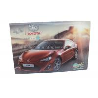Quality Car Poster Lenticular 3d Effect Poster PET CMYK Offset Printing for sale