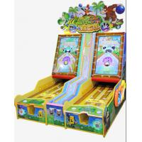 China Wood Coin Operated Game Machine , Arcade Bowling Machine For Children wholesale