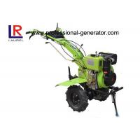 China Diesel Power Small Garden Tiller For Agriculture With Forced Air Cooling 173F Engine wholesale