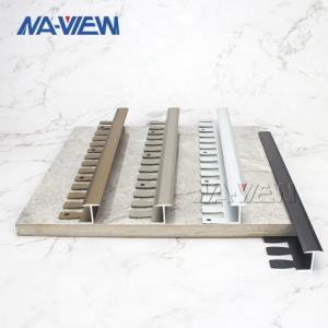 China Brass Transition Profile Listello Border Tile Edge Trim 0.8mm Thickness wholesale