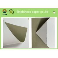 China 250gsm 0.31mm Printed Cardboard Sheets , Recycled Mixed Pulp A4 Cardboard Paper wholesale