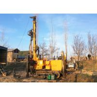 Buy cheap Crawler Mounted Hydraulic Water Well Drilling Machine With 112kw Diesel Powered from wholesalers