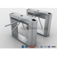 Quality Semi Automatic Access Control Tripod Turnstile Gate Stainless Steel For Public Areas for sale