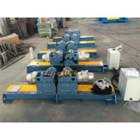 PU Wheel Automatic Tank Turning Rolls With Control Cabinet 10 Ton