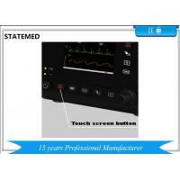 3.5 Inch Automated Vital Sign Machine , Patient Heart Monitor / Icu Patient