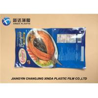 China Ny PE Vacuum Frozen Plastic Food Packaging Bags 29x31cm 88mic wholesale