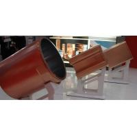 China Round Blank Copper Mould Tube For CCM , Single Tapered Copper Mould Plate Optional Size on sale