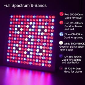 China Waterproof Full Spectrum LED Grow Lights With 660nm - 450nm Wavelengh wholesale