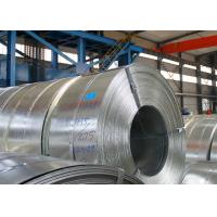 China Q195 Hot Dip Galvanized Steel Strip Thickness 2.0mm / 2.5mm 3 - 8 Ton Weight wholesale