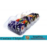 China Professional Scrub Casino Chip Tray / Plastic Chip Tray 150g Easy To Carry wholesale