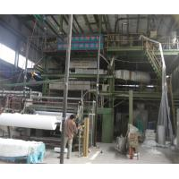 China PP PE Geotextile Production Line High Strength For Geomembrane Protection wholesale
