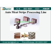 Buy cheap 300kg per hour Natural Pure Chicken Meat Strip Processing Line with CE from wholesalers