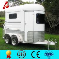 China Large horse float,2hsl horse float in high quality wholesale