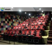 China Motion 4D Seat Local Movie Theaters Cinema 4d Movie With Pneumatic System wholesale