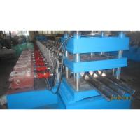 China Galvanized Guardrail Roll Forming Machine for Making Highway Safety Barrier Protections Export to EU Countries wholesale
