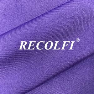 China Skin Friendly Feeling Ribbed Swimwear Fabric Using Body Care Technique wholesale