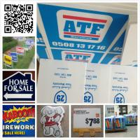 China 24x18 3mm 4mm coroplast sign/ real estate sign/ lawn sign / corflute sign wholesale
