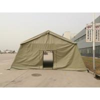 China Militar Army Big Oxford Canvas PVC Fabric Tent 20 People Capacity wholesale