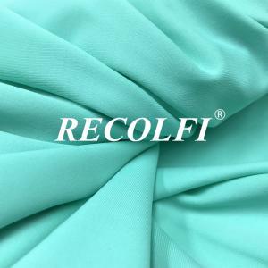China 100% Recycled Swimwear Fabric , Classic Blue Pantone Eco Friendly Swimwear Fabric wholesale