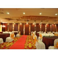 China Conference Room tri fold internal doors , Internal Folding Door For Banquet Hall on sale