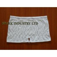China Customised OEM S / M Size Seamless Washable Incontinence Briefs Of Circular Knitted wholesale