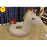 Buy cheap Colorful Inflatable Swimming Unicorn Ring PVC 220cm Inflatable Toys Pool for Kids product