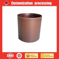 China Copper plated stainless steel gardening  flower pot  planters on sale