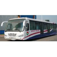 Quality Durable Low Carbon Alloy Steel Body Nice Airport Shuttle Bus With Thermal King for sale