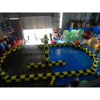 China Attractive Giant Zorb Ball Ramp For Advertising Inflatable Hamster Ball Track wholesale