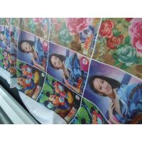 China 100% Polyester Windows Curtain / Flag Fabric 110-250 G / GSM wholesale