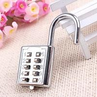China Mini push button Code zinc alloy Combination lock 10 pin Sports Locker wholesale