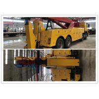 Buy cheap Max. Speed 90km/h VOLVO brand chassis Road Wrecker 2 pieces of winch Diesel fuel from wholesalers
