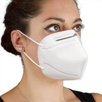 China Hypoallergenic KN95 Face Mask Good Air Permeability Non Woven Face Mask wholesale