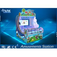 China Kids Coin Pusher Redemption Game Machine Dolphin Shooting Ball Game Machine on sale