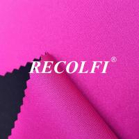 Buy cheap Plain Color Shine Layer 270GSM Activewear Knit Fabric from wholesalers