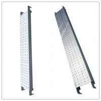 China Galvanized Pregalvanized steel scaffolding boards with hook , thickness 1.8mm wholesale
