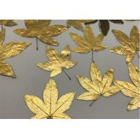 China Maple Gold Dried Flowers, Large Dried Flowers For Wooden Photo Frame Ornament wholesale
