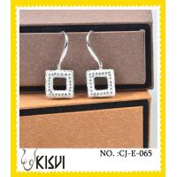 China 2012 newe fashion design handcrafted crystal jewelry / earrings with factory price wholesale